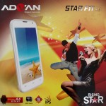 Harga Advan Star Fit S45A, Smartphone Android Kitkat Layar 4,5 inci